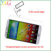 XWG Tempered Screen Protective guard for LG ,9H 2.5D round edge ,Keeps your screen clear of finger prints and smudges