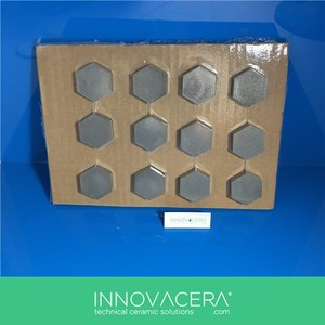 99% Alumina Hex Ceramic Tile for Armored Car/Innovacera