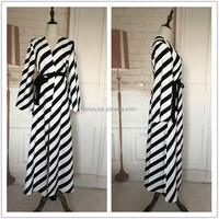 Muslim women long dress Kaftan Abaya Islamic loose maxi skirt High quality and good sewing Turkey sleeve long dress