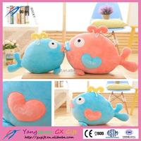 New China products baby stuffed plush fish toy