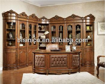 Mobili Ufficio Legno Massello : In stile americano sala studio tavolo legno massello mobili per