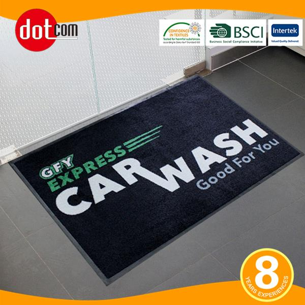 Send a Message With Your Personalized Mats or Rugs
