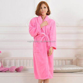 de30158b0b Womens Luxuriousy Soft Long Full Length Bath Robe