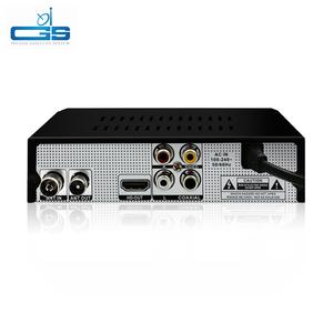 receiver dvb-s2 dvb-t2 MPEG-2/-4 H 264 FTA Full HD Mini Set Top Box Ali  3821P support software upgrade