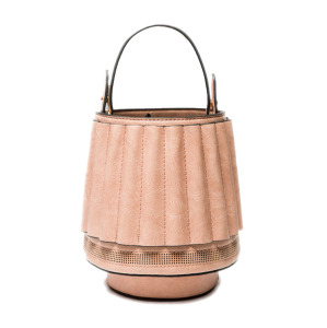 Shenglu Guangzhou Unique Lamp Shaped Bucket Lady Handbag Quality Bag lighting changing bag (XJUQ0906)
