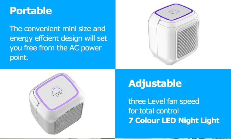 Room Standing Mini Portable Air Conditioner