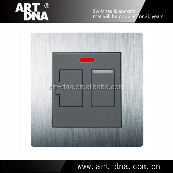 European Style A69 5A Switched Fused Connection Unit Switch