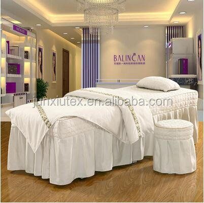 plain pure color beauty salon facial bed <strong>sets</strong> spa bed <strong>sets</strong> for sale cosmetic beauty bed <strong>sets</strong>