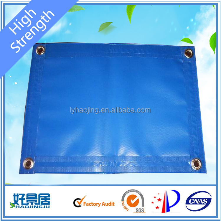 PVC Coated Tarpaulin Scraps Material and In-Stock Items Supply Type pvc fabric