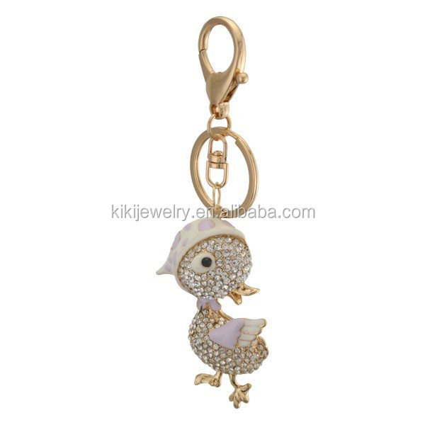Enamel Alloy Koala Keychain Key Ring For Women Wallet Handbag Charm Jewelry Gift
