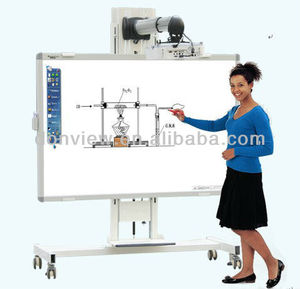 High interactive whiteboard electronic technology to watch and teach