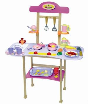 Holz Küche Spielzeug,Küche Set,Kinder Küche - Buy Holz Küche ...