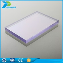Excellent weather ability uv resistant plastic bus stop roofing materials solid pc sheet