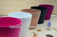 plastic home flower pot decoration items wholesale