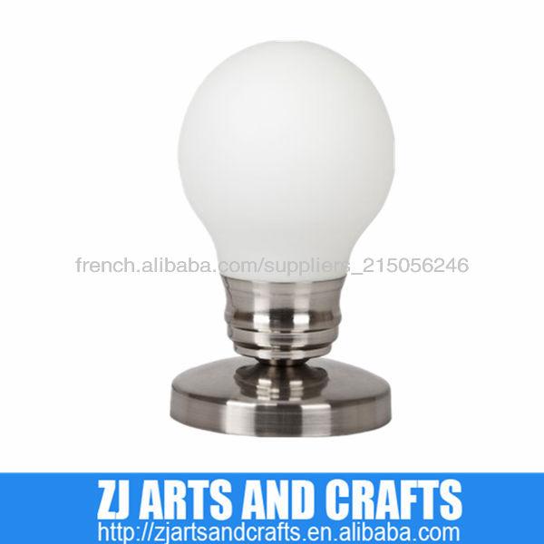 lampe tactile en forme d 39 ampoule lampe de table et de lecture id de produit 500000016906 french. Black Bedroom Furniture Sets. Home Design Ideas