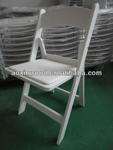 white color wedding folding chair for banquet / ballroom