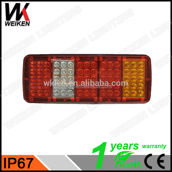 Weiken led tail stop brake lights boat trailer truck caravan lamp weiken led tail stop brake lights boat trailer truck caravan lamp bar 24v aloadofball Gallery