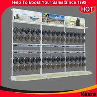 fashion cheap hat display rack for online retail store