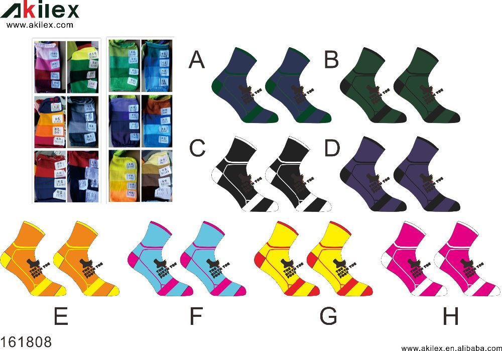Wholesale Custom Provide Custom logo soccer socks high quality basketball socks