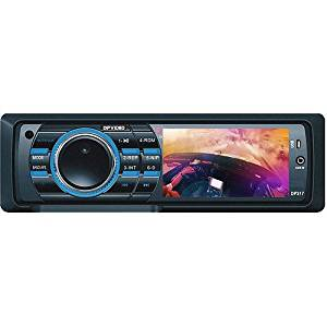 DP Video DP317 Car DVD / CD / DVD-R / DVD-RW / DivX / MPEG4 / VCD / MP3 / WMA / CD-R / CD-RW / FM/AM Player / Receiver with 3 inch Monitor, USB, SD Card Slot, Front aux, Full Function Remote and DETACHABLE FACEPLATE