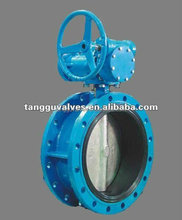 Flanged Concentric Disc Butterfly Valve DN100