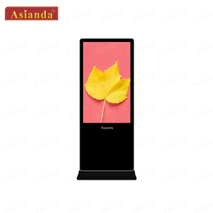 65 inch Floor standing LCD post free ads digital signage