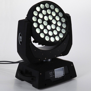 36*18w low price wedding zoom wash led moving head lighting for sale