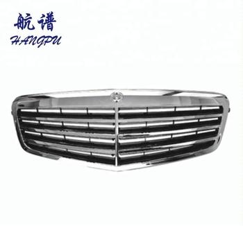 Auto Body Parts Front Chrome Grid Grille For Mercedes W212 E Cl A2128800583 A2128801083