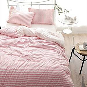Get Quotations · HlA Bed Set Stylish 4 Tianzhu Cotton Knitted Cotton 4  Piece Piece Of Pure Cotton Raw