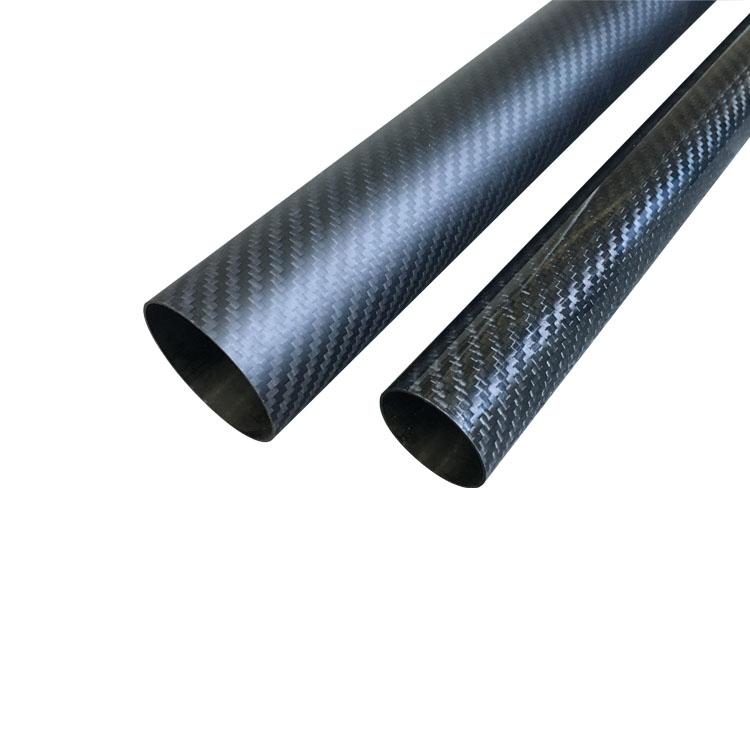 3K carbon fiber round tube
