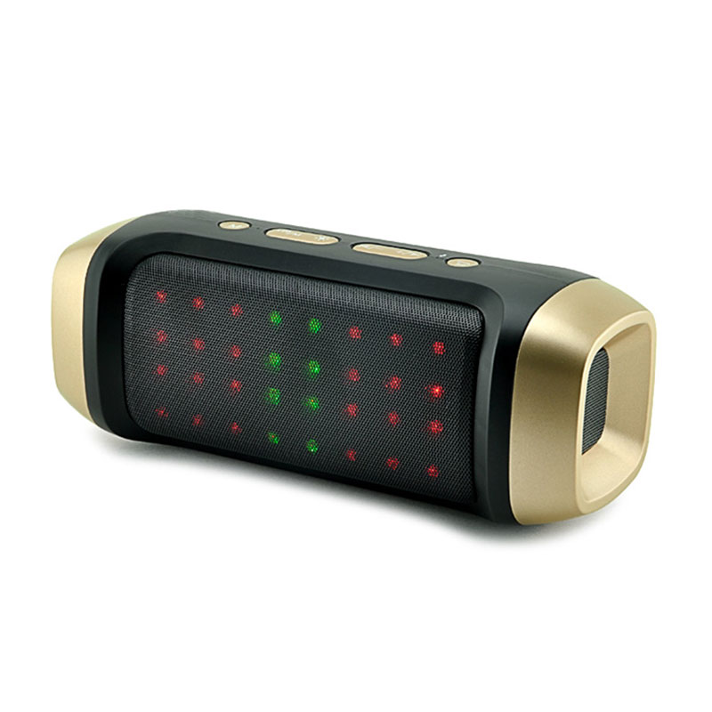 Portable with cool sound wireless bluetooth lighted speaker