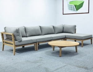 Garden furniture wooden sofa teak sofa set designs