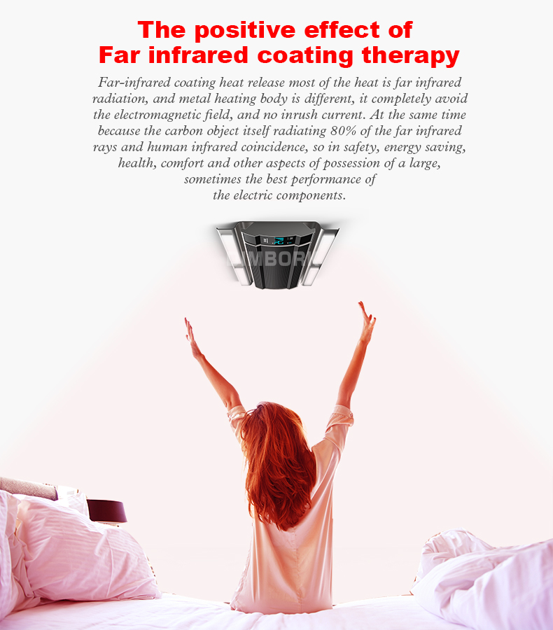 LED outdoor infrared heater ceiling wall radiant electric infrared heater