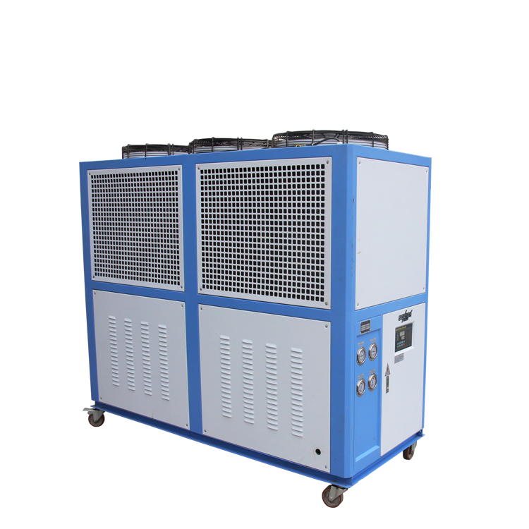 20HP Air Cooled อุตสาหกรรม Chiller ice rink chiller กับ R-134a/R407c/R410a