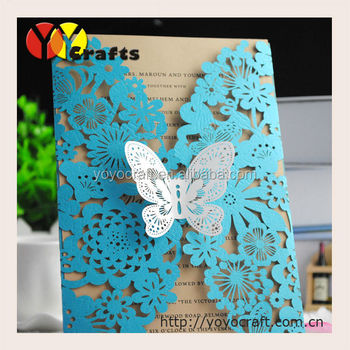 butterfly invitations