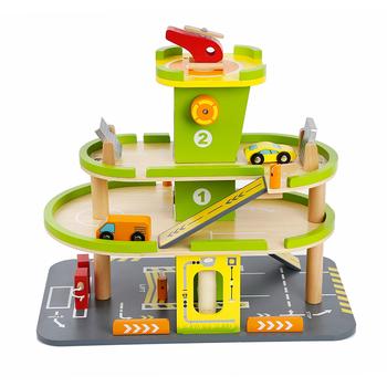 nouveau style bricolage enfants en bois jouet de garage meilleur jouet de stationnement de. Black Bedroom Furniture Sets. Home Design Ideas