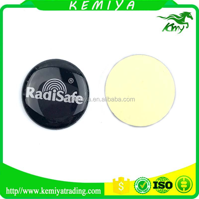 High Quality Anti Radiation Mobile Phone Stickers, Bio Energy Shield Round Radisafe Paster