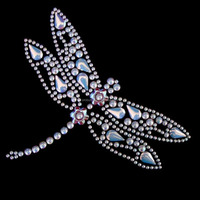 Professional accessories rhinestone designs templates for garment