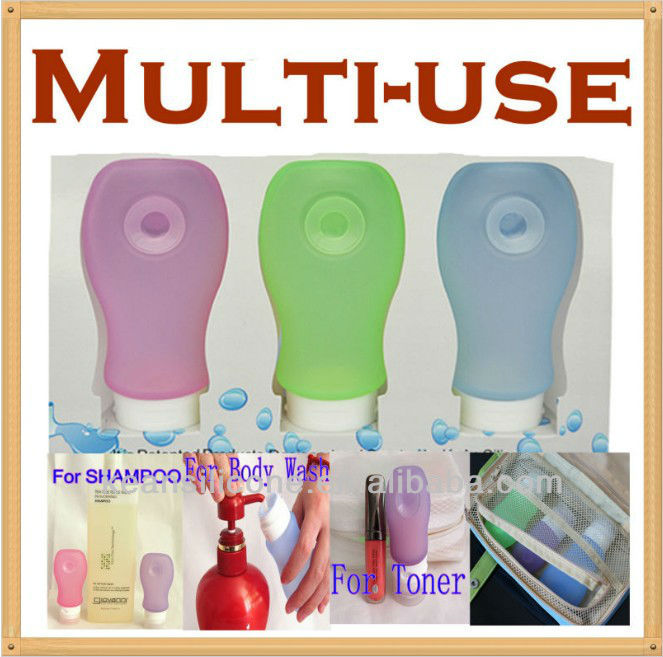 Mac Wholesale Cosmetics/Oriental Perfume Bottles/Silicone Packaging Shampoo