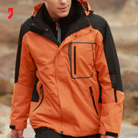 Mens winter Jackets Men's Sportswear Outdoor Double Layer 2in1 Mountain Clothing Waterproof Climbing Ski Jackets