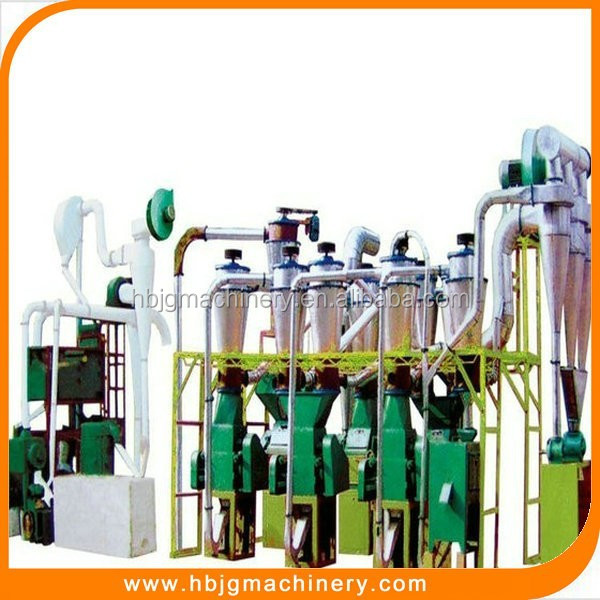 Jing Gang Machinery 10 ton per day wheat flour milling machine with reasonable price