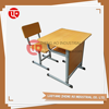 Height adjustable desk leg design school desk and chair for sale