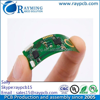 2 Layers Rigid-flex Pcb,Made Of Teflon Material,Enig Surface Treatment And  0 85mm Thickness - Buy Rigid-flex Pcb,2 Layers Rigid-flex Pcb,Pcb Product