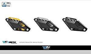 Dimotiv DMV Crash Pad - Right Side for YAMAHA FZ6 N/S/S2 2006-10 ; FZ6R 2010-15 ; XJ6 DIVERSION S/ABS 2010-15 ; XJ6 ABS SP 2013-15 ; DIVERSION F/ABS 2010-15 ; XJ6N/XJ6S/XJ6F 2009-15. (BLACK)