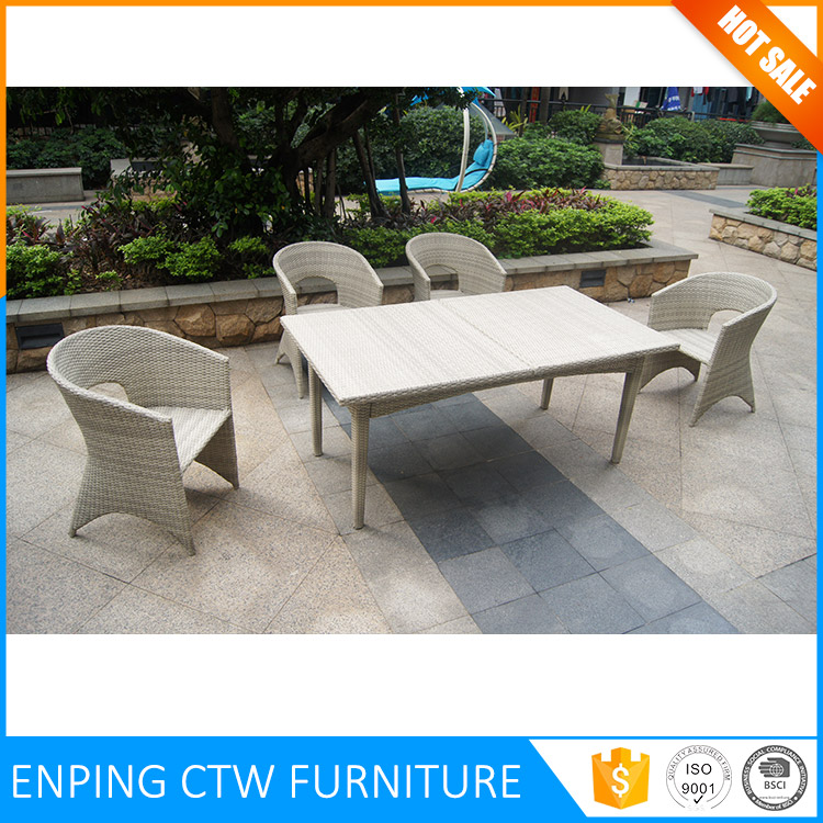 Luxury Durable Easy Cleaning Overstock Outdoor Furniture 4 Person
