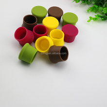 100% food grade reusable beer sealer cover silicone wine bottle stopper for wholesale