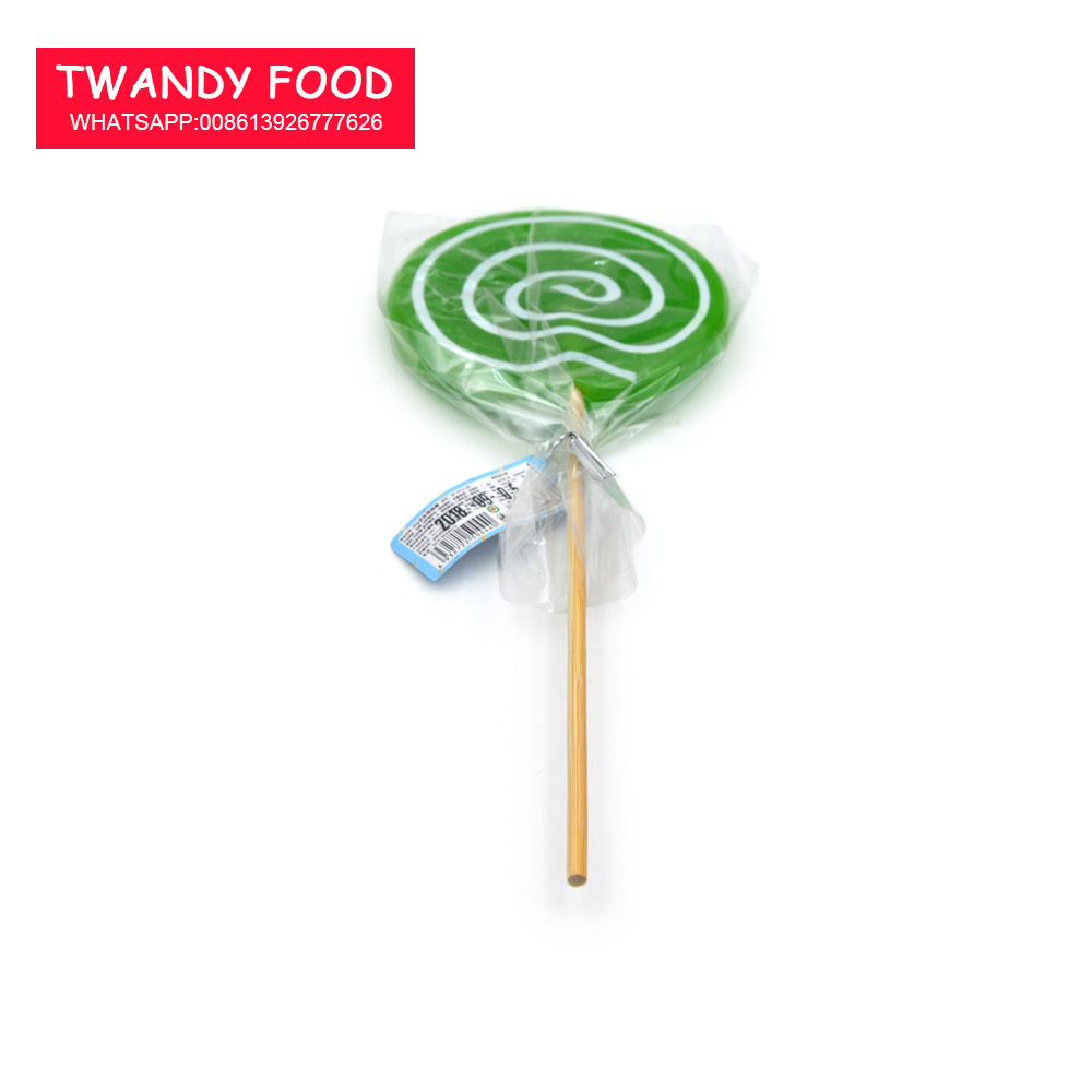 50g grote ronde lolly hard candy