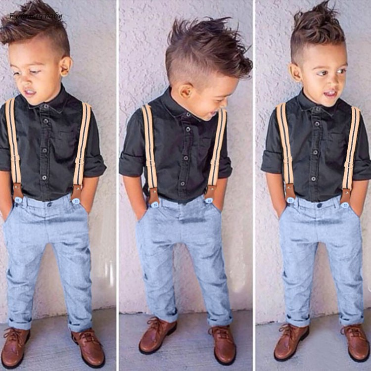 New Children Clothing Sprint Summer Cute Baby Boys Clothes