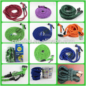 2015 hot sales Excellent high pressure expandable flexible garden water hose used for car washing/ for garden