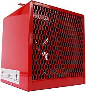 4000/3000W Electric Space Heater, Fan Forced, 208/240V